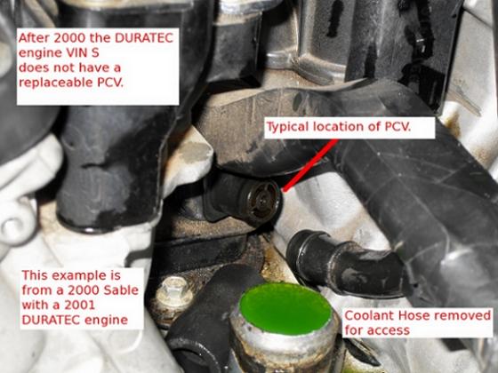 Pcv Valve For Duratec Engine 2000 Sable Taurus Car Club Of Rhtaurusclub: Ford Taurus Pcv Location At Gmaili.net