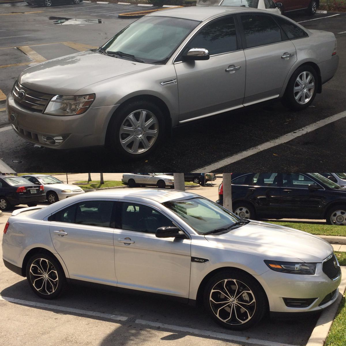 Ford Taurus Sho 2013: Hey Just Traded In 08 Taurus Limited For 2013 SHO W