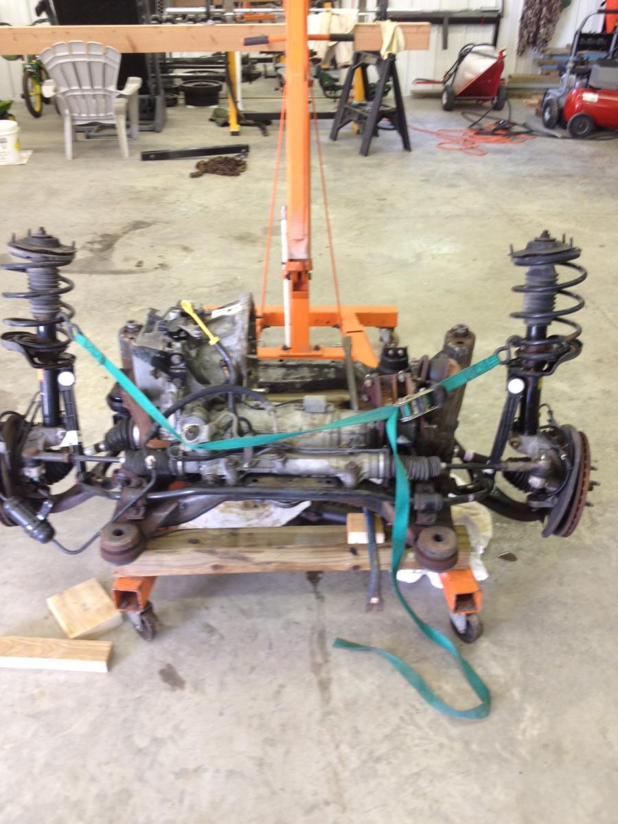 2001 w/ Vulcan 3 0 engine swap info - Page 5 - Taurus Car Club of