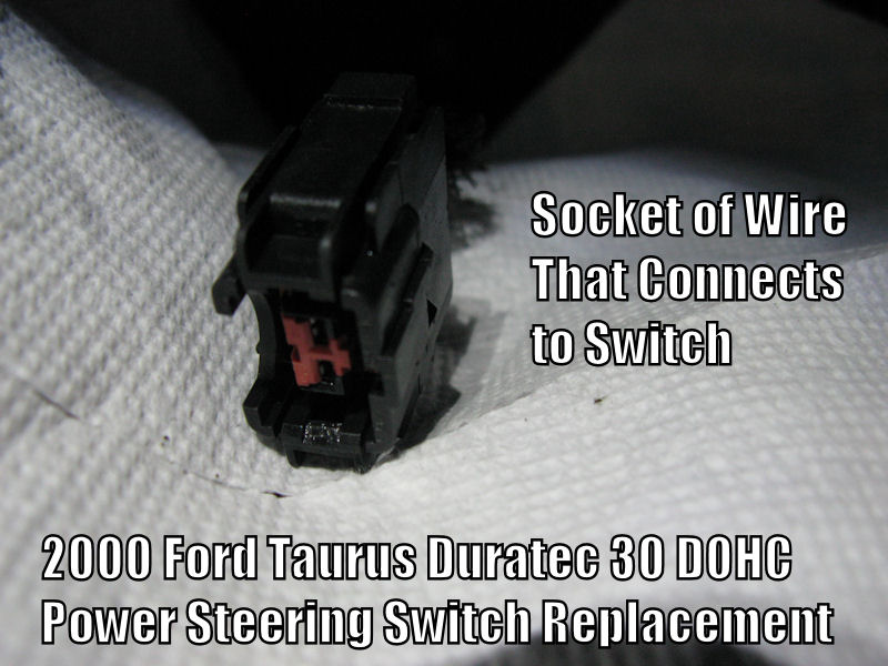 Power Steering Pressure Switch Replacement Guide: 2000 Ford