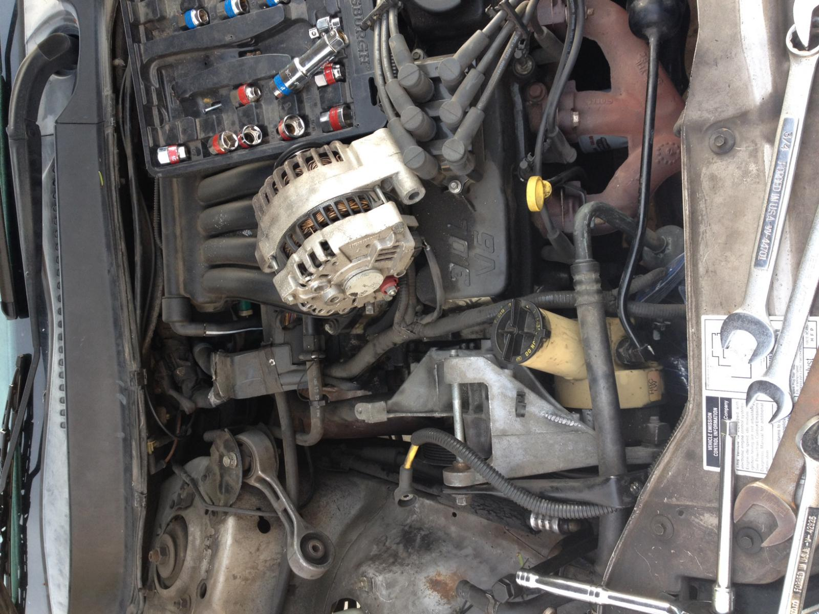 power steering pump removal problem