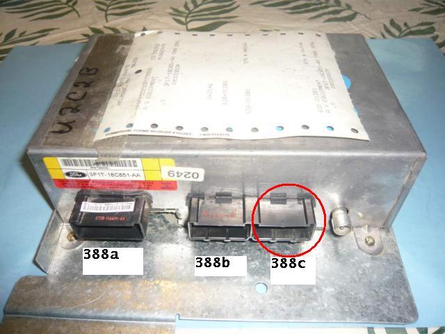 rcu plug taurus car club of america ford taurus forum rh taurusclub com 2001 Ford Taurus Stereo 2001 Ford Taurus Engine Problems