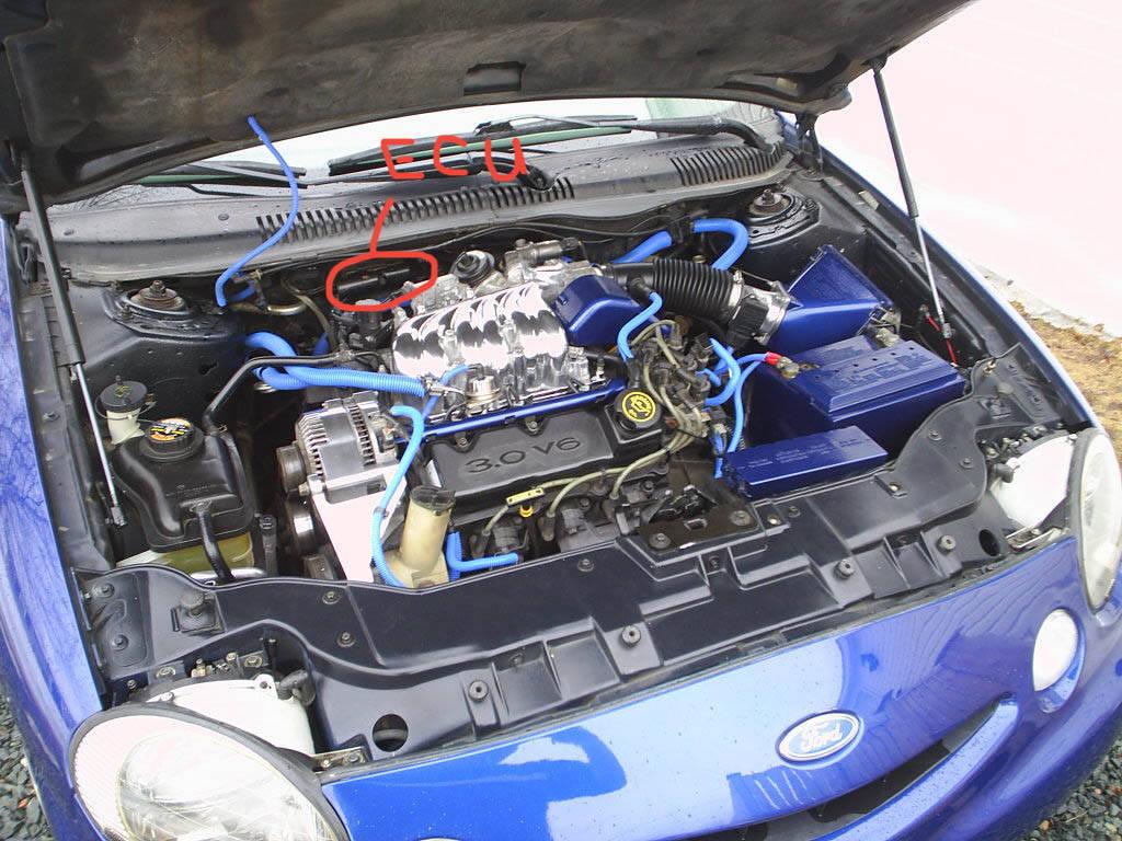 Need Help Finding Ecu Location Taurus Car Club Of
