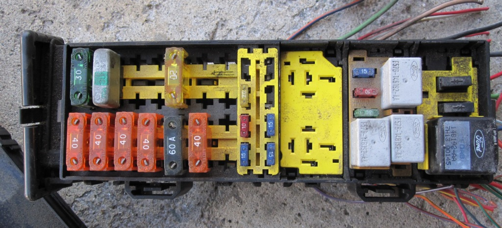 Engine Fuse Box