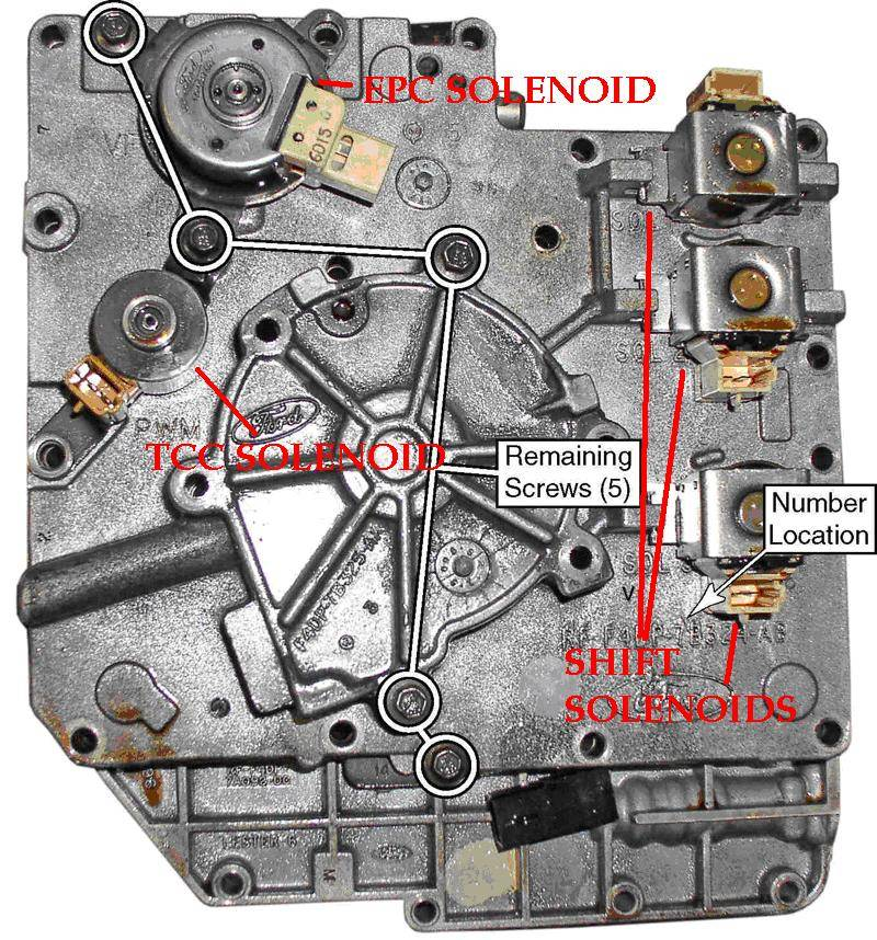 solenoid taurus car club of america ford taurus forum  03 trailblazer transmission solenoid diagram #11