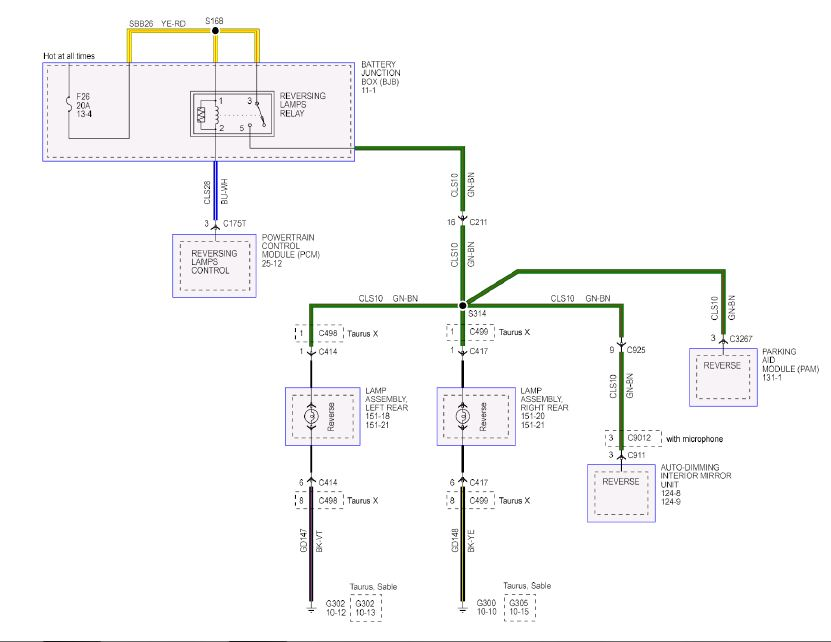 Gm Backup Camera Wiring Diagram from www.taurusclub.com