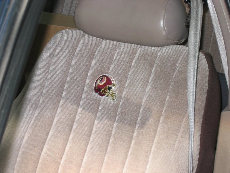 Astounding Redskins Themed Seat Covers Taurus Car Club Of America Squirreltailoven Fun Painted Chair Ideas Images Squirreltailovenorg