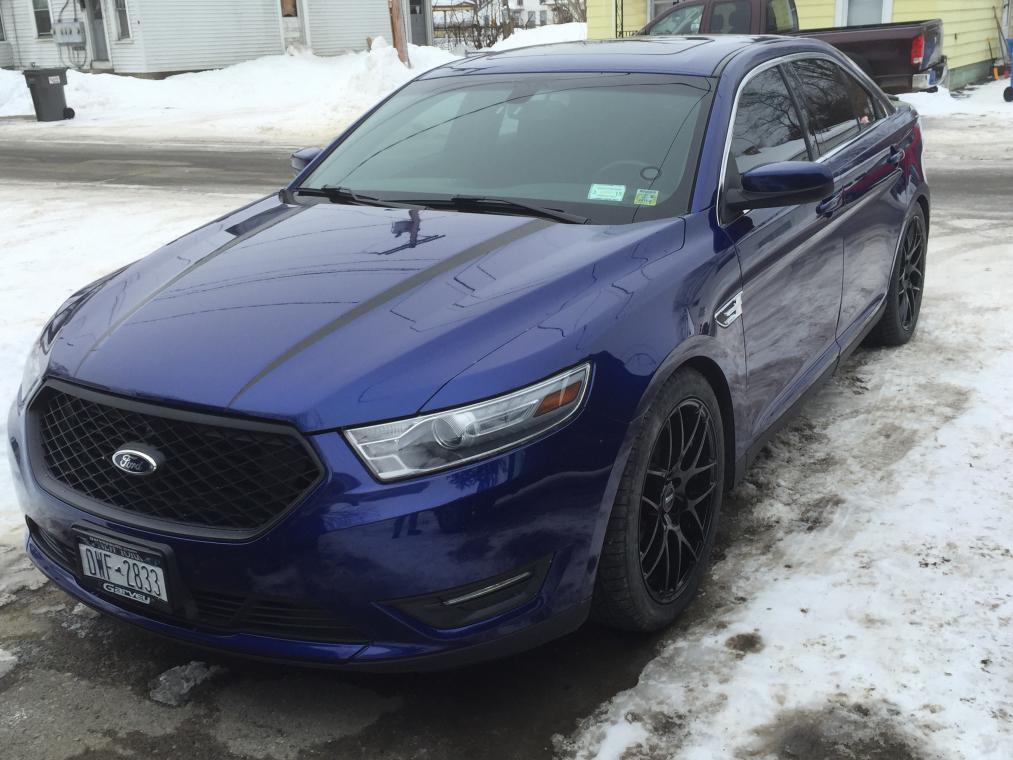 Mustang Wheels On 13 Sel Taurus Car Club Of America