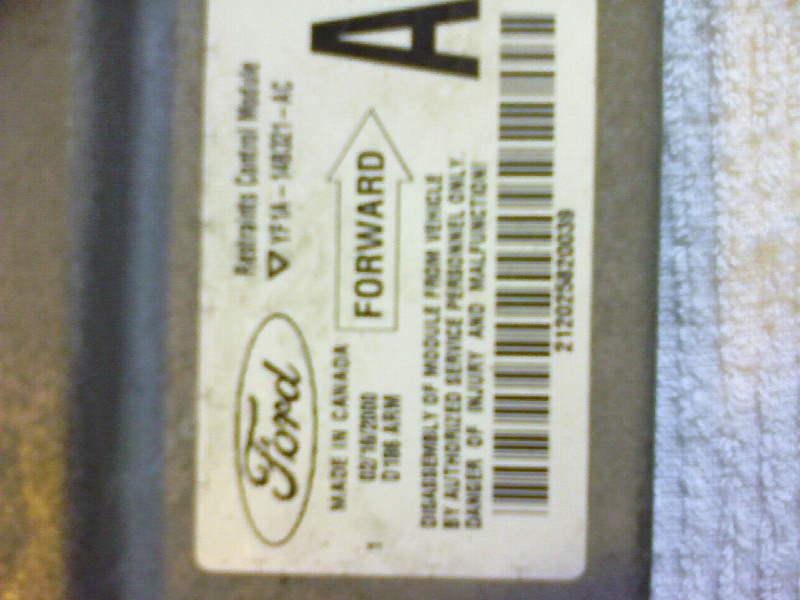 ford b1342 faulty control module