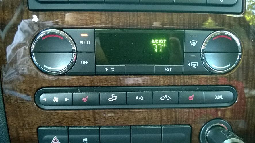 Several issues with 2008 Taurus HVAC - Taurus Car Club of America